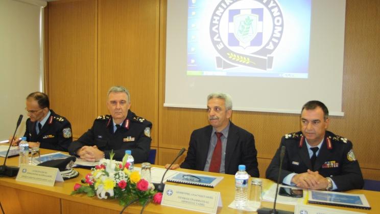 Παρουσιάσθηκε η αναδιάρθρωση της ΕΛ.ΑΣ. στη Θεσσαλία