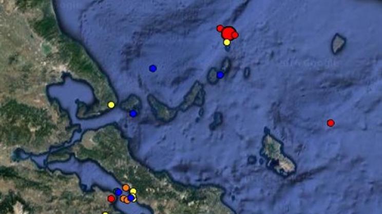 Σεισμός 4 βαθμών βορειοανατολικά της Αλοννήσου