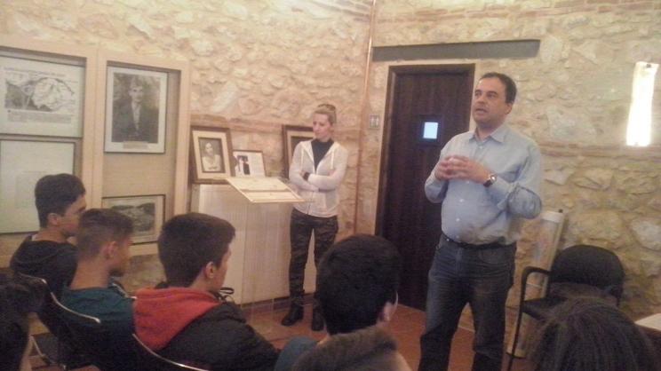 Επίσκεψη μαθητών στο Μουσείο Εθνικής Αντίστασης