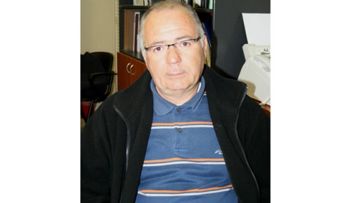 Ο πρόεδρος του Μελισσοκομικού Συλλόγου Λάρισας, Κώστας Καλαπούτης