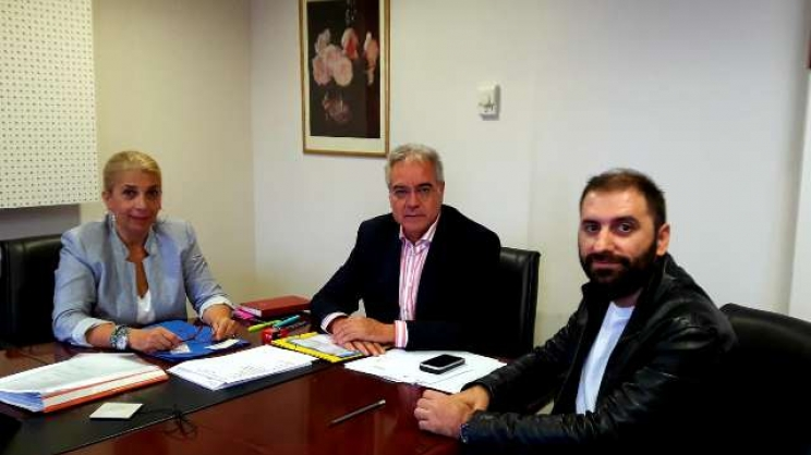 Από τη χθεσινή συνάντηση του διοικητή της 5ης ΥΠΕ Φ. Σερέτη με τον Σύλλογο Καρκινοπαθών